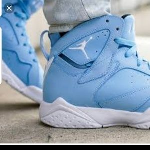 NEW Never Worn Air Jordan Retro 7 Pantone Sky Blue